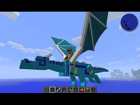 Minecraft Dragon Mounts Mod Showcase 1.6.4 & 1.7.x