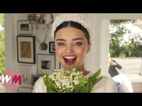 Top 10 Celebrity Weddings That Defied Our Expectations