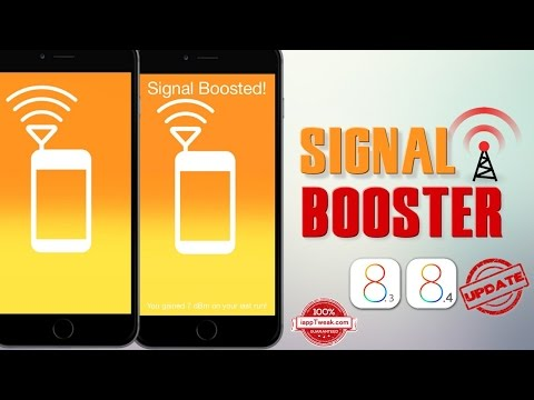 Signal Booster : Jailbreak Tweak to enhance iPhone's Carrier and WiFi Signal Strength - UPDATED