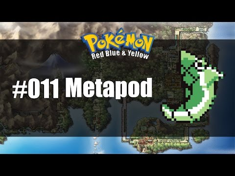 Pokemon Red Blue & Yellow | How to get #011 Metapod