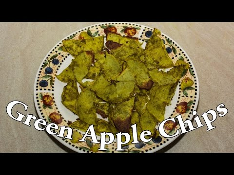 Crispy & Quick Oven Baked Apple Chips - Dessert Recipe # 12