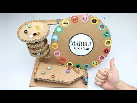 Wow! Amazing DIY Marble Run Automatic Machine from Cardboard