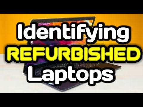 How to check whether laptop is refurbished or not | 2017 Latest Method