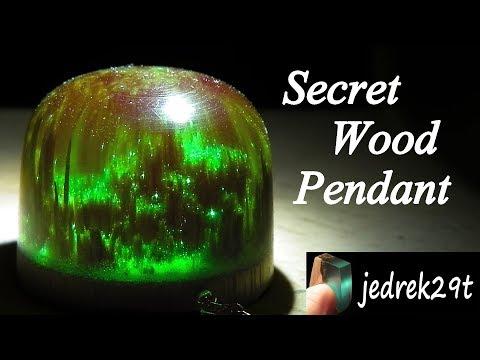 How to make SECRET WOOD PENDANT