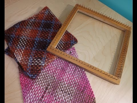 How to make square weaving loom, and how to use it - with Ruby Stedman