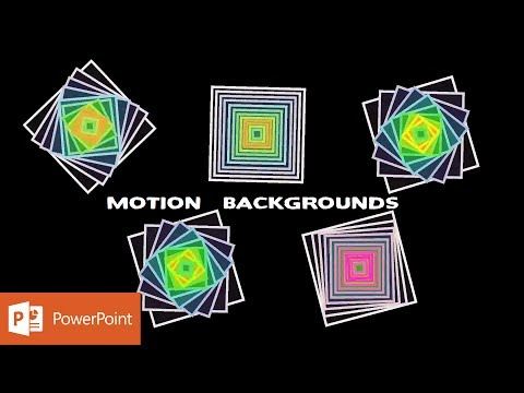 Spinning Pyramids | Motion Graphic in PowerPoint 2016 Tutorial | The Teacher