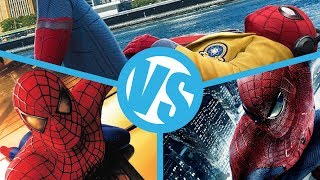 Spider-Man: Homecoming VS Spider-Man (2002) VS The Amazing Spider-Man : Movie Feuds