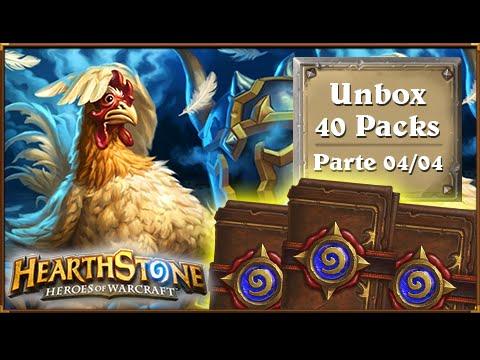 HearthStone: Unbox 40 Packs Clássico - ACABOOOOOU ;-; [Parte 04/04]