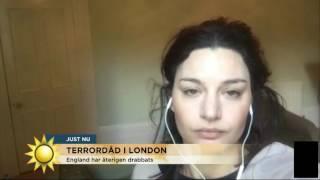 """Rebecca: """"jag tänker på ett annat sätt nu"""" - Nyhetsmorgon (TV4)"""