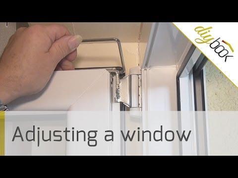 Window hinge adjustment - Howto adjust a casement window