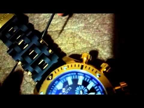 How to: Remove Link on INVICTA SEA SPIDER Watch