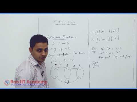 Set Relation Function Maths Part-10 std 11th HSC Board Video Lecture BY Rao IIT