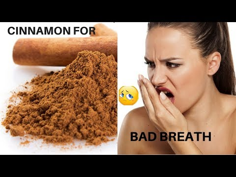 HOW TO FIGHT BAD BREATH USING CINNAMON