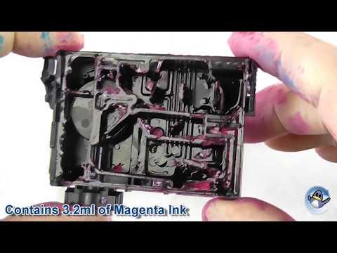 Inside Epson 29 Magenta Strawberry Ink Cartridge (C13T29834010)
