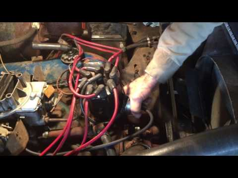Pertronix Distributor Flame Thrower II Install - Ford 360 - 1972 F250