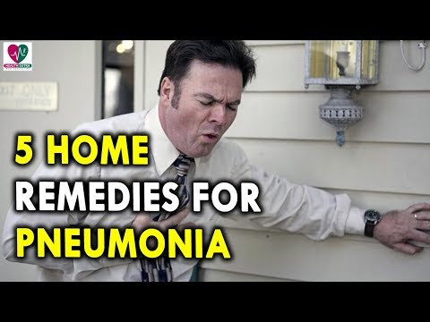 5 Home Remedies for Pneumonia - Causes of Chest Pain and Chronic Cough