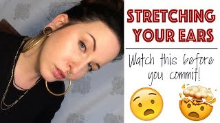 What they *DIDN'T* tell you about stretching your ears! | Body Modification Chat