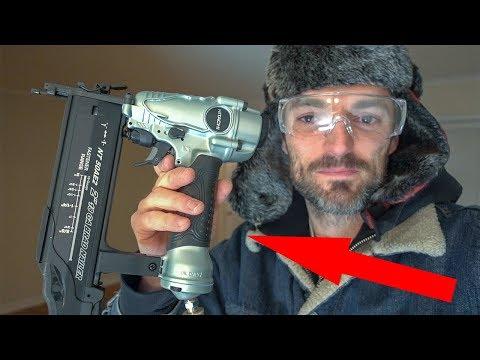 Hitachi NT50AE2 18 Gauge Brad Nailer // Unbox & Review