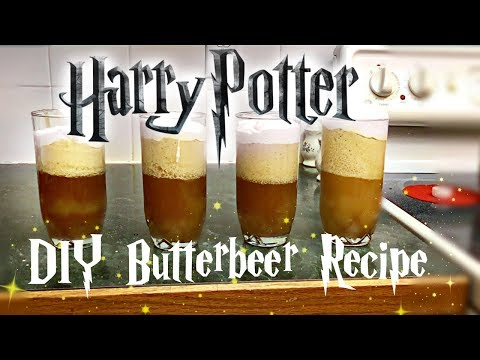 DIY Easy Non-Alcoholic Butterbeer | Harry Potter Recipe