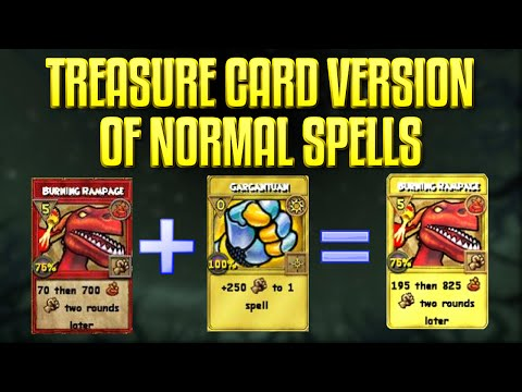 Wizard101: How To Create The Treasure Card Version of Normal Spells