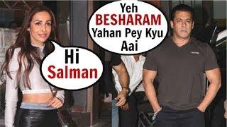 Salman Khan IGNORES Malaika Arora At Sohail Khan