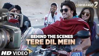 Making of Tere Dil Mein Song | Commando 2 | Vidyut Jammwal, Adah Sharma, Esha Gupta, F