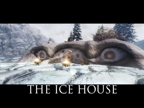 TES V - Skyrim Mods: The Ice House - Mage College Winterhold