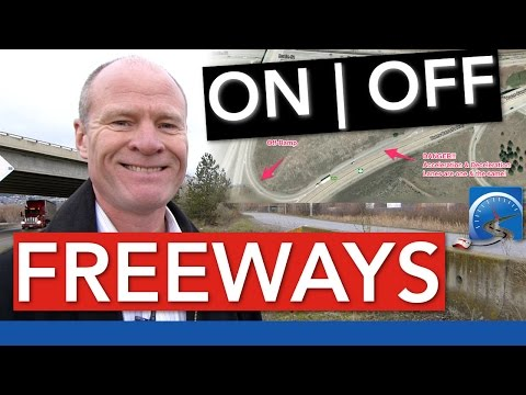 How to Get ON/OFF a Freeway, Motorway, or Highway that is Obstructed