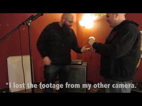 Gallien-Krueger Neo 410, Ampeg Portaflex, and Ernie Ball Bongo Bass