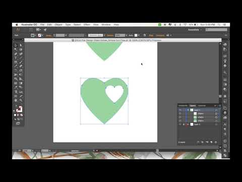 Designing Your Own Cut Files: Part 2 - The Basics of SVG Cut File Design