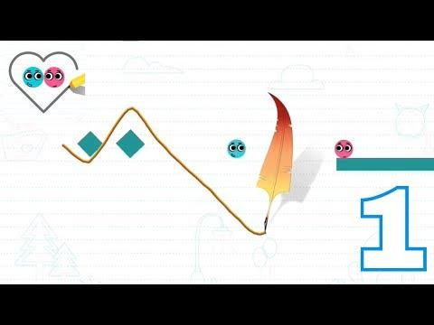 LOVE BALLS Gameplay trailer | walkthrough Part 1 | Level 1 : 48 ( iOS , Android )