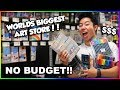 No Budget At Worlds Biggest Art Supply Store Shopping Spree + Huge Giveaway mp3