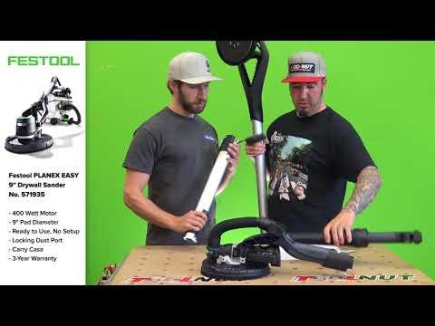 Festool Planex EASY Drywall Sander NEW! | The Tool Nut