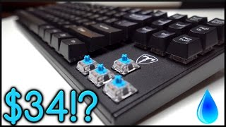 $34 Waterproof Mechanical Keyboard!