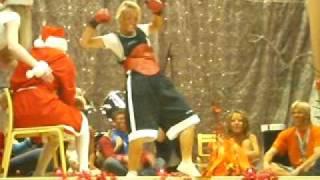Jõulupidu 2009 . Kaiu 9klass.