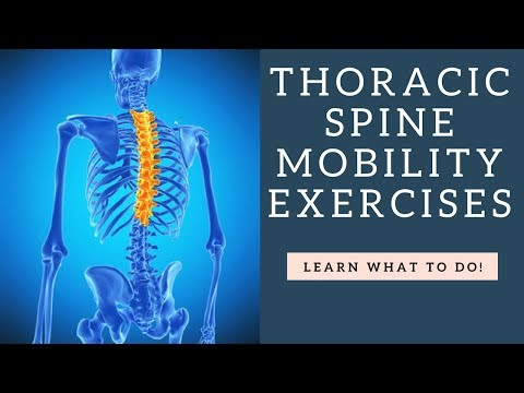 HOW To Improve Thoracic Spine Mobility With These Stretches & Exercises!