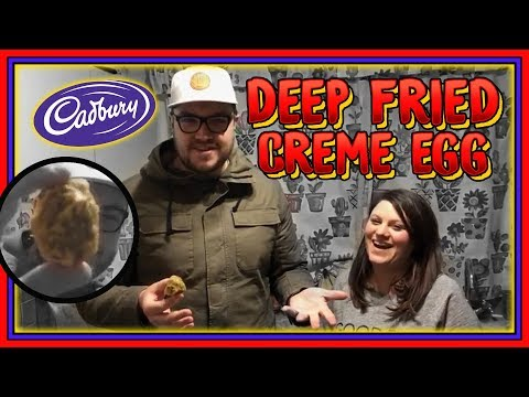 Deep Fried Creme Egg Review