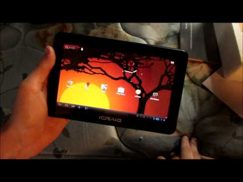 tablet review - jelly bean android craig