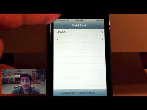 How to Enable Numeric Cell Strength on Verizon iPhone 4 {NO JAILBREAK}
