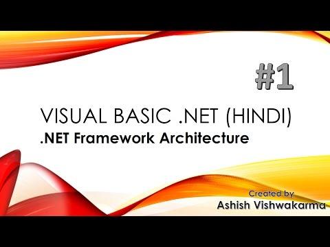 Visual Basic Dot Net Framework Architecture in Hindi