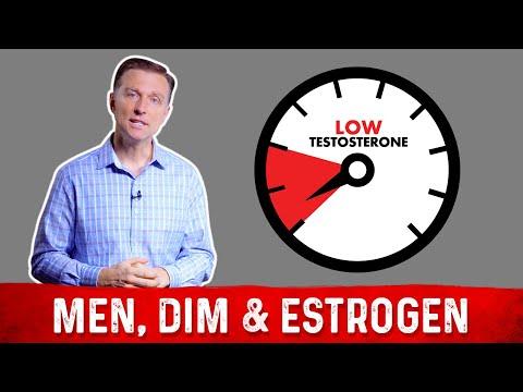 Men Using DIM for High Estrogen & Low Testosterone