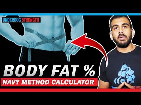 Navy Method Body Fat Calculator - Body Recomposition Ep 02