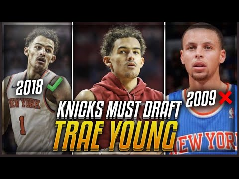 The REASON The Knicks MUST Draft TRAE YOUNG! | New York & Steph Curry 2.0!