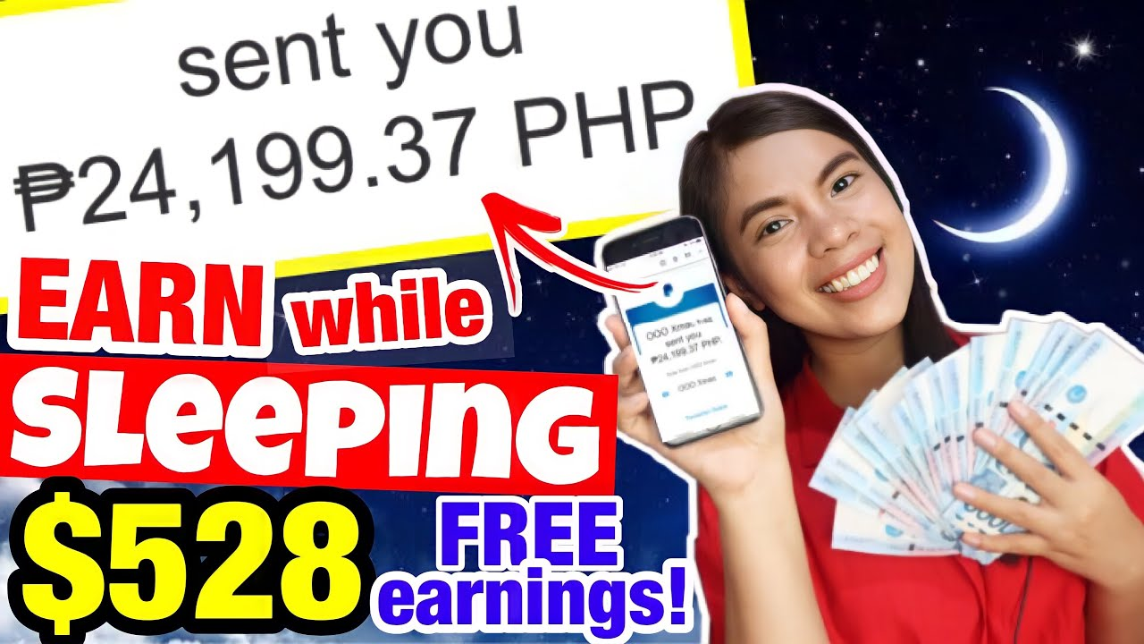 I EARNED $528 [P24,199] FREE WHILE SLEEPING! NO NEED REFERRALS | Earn doing NOTHING! Live Withdrawal