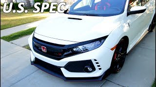TAKING DELIVERY OF A NEW 2017 HONDA CIVIC TYPE-R!