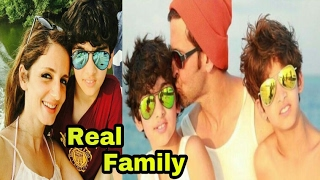 Bollywood Actor HRITHIK ROSHAN With Family