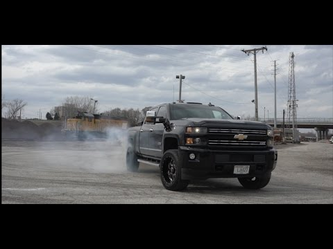 2016 Chevy Duramax 2500 Leveled and Deleted to go fast!