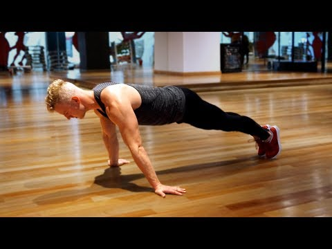 3 Ways to Develop the Chest with PUSH UPS