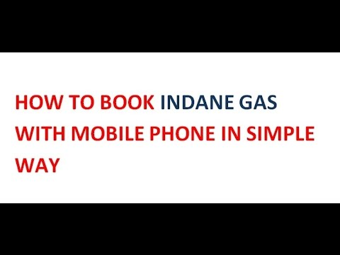 How To Book Indane Gas With Mobile Sms | Without Online Booking Process