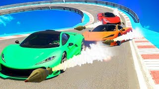 DODGE THE ROCKETS OR DIE! (GTA 5 Funny Moments)